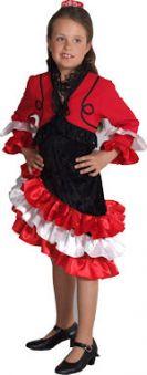 Детски костюм - Испанско момиче