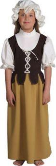 Детски костюм - Средновековно селско момиче