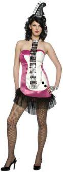 Костюм - Glam Rock китара розова