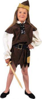 Детски костюм -Средновековна разбойничка