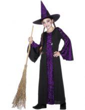 Карнавален костюм Вещица Лилава