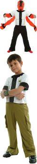 Детски костюм - Reversible Ben 10