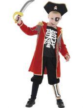 Детски костюм - Капитан Скелет, Пират