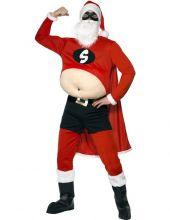 Карнавален костюм  Супер  Дядо Коледа / Super Santa