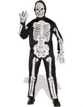 Карнавален костюм Скелет  Хелоуин Halloween 3D