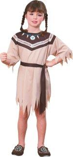 Детски костюм- Индианска Принцеса