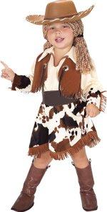 Детски костюм - Каубойка