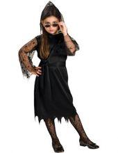 Карнавален костюм Готическа Вампирка с дантела