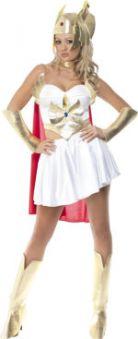 Костюм Средновековен супер герой She-Ra Super Hero